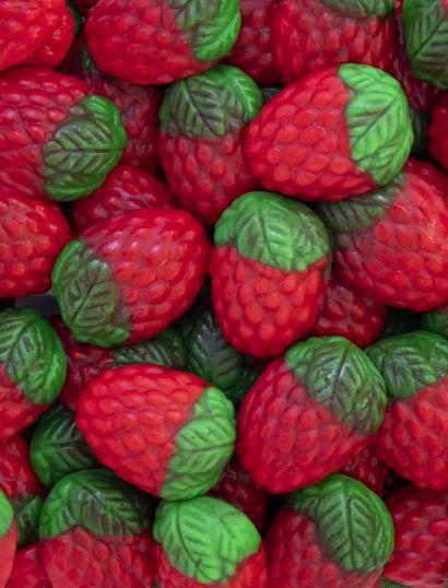 Fresas Silvestres caja 10 bolsas doypacks autocierre 180g