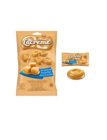 LaCrême Toffee sin Azúcar 12 bolsas 80g
