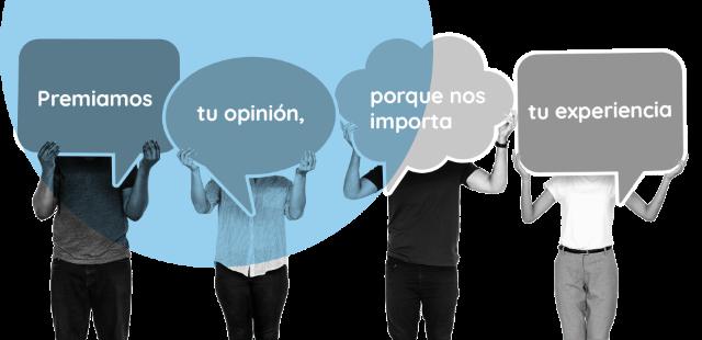 Premiamos tu opinión